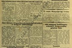 918 magyar hadifogoly érkezett Debrecenbe péntek este (Néplap 1946. szeptember 14.)